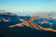 Gran Canaria, Caldera de Tejeda, morning light Stock Image