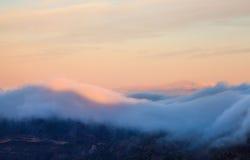 Gran Canaria, Caldera de Tejeda, morning light, sunrise Stock Photography
