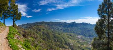 Gran Canaria, Caldera de Tejeda Stock Photo