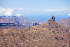 Gran Canaria, Caldera de Tejeda Stock Photography