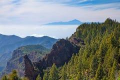 Gran Canaria, Caldera de Tejeda Royalty Free Stock Photo