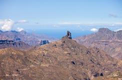 Gran Canaria, Caldera de Tejeda Stock Photos