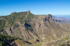 Gran Canaria, Caldera de Tejeda, Roque Nublo royaltyfri bild