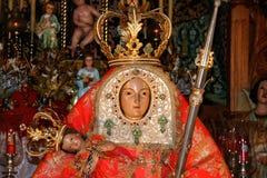 GRAN CANARIA, CANÁRIO ISLANDS/SPAIN - 21 DE FEVEREIRO: Detalhe de chur Fotografia de Stock