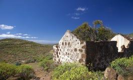 Gran Canaria, casa rovinata Immagini Stock