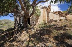 Gran Canaria, casa rovinata Fotografie Stock