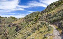 Gran Canaria, Central mountains Royalty Free Stock Photo
