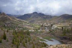 Gran Canaria, Cercados de Arana Imagem de Stock Royalty Free