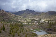 Gran Canaria, Cercados de Arana Стоковое Изображение RF