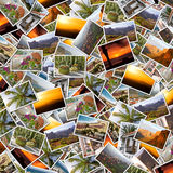 Gran Canaria collage. Background collage of Gran Canaria, Canary Islands photos Royalty Free Stock Image