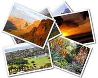 Gran Canaria Collage. Collage of Gran Canaria Canary Islands photos isolated on white background stock images