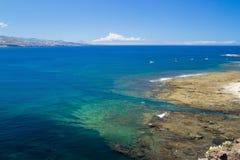 Gran Canaria, El Confital plaża Zdjęcie Royalty Free