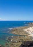 Gran Canaria, El Confital plaża Zdjęcie Stock