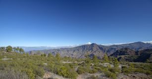 Gran Canaria, enero de 2018 Imagen de archivo libre de regalías