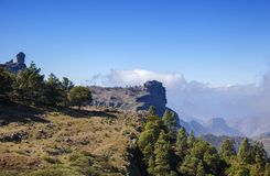 Gran Canaria, February. Gran Canaria, Las Cumbres, the highest areas of the island, February royalty free stock photography