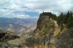 Gran Canaria, górska wioska Artenara Zdjęcie Stock