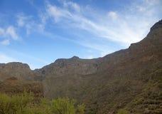 Gran Canaria,  Guayadeque ravine Royalty Free Stock Photo