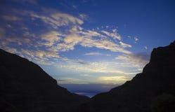 Gran Canaria,  Guayadeque ravine Royalty Free Stock Photos