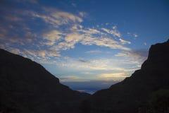 Gran Canaria,  Guayadeque ravine Royalty Free Stock Photography
