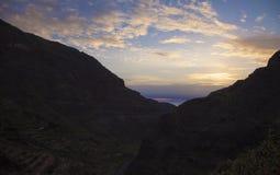 Gran Canaria,  Guayadeque ravine Stock Photo