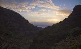 Gran Canaria,  Guayadeque ravine Stock Photography