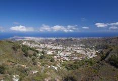 Gran Canaria, hiking path Cruz de Tejeda - Teror Royalty Free Stock Image