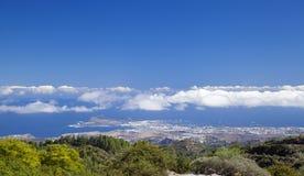 Gran Canaria, hiking path Cruz de Tejeda - Teror Royalty Free Stock Images