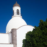 Gran Canaria, Ingenio. Town church royalty free stock images