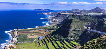 Gran Canaria island - panoramic view Stock Photos
