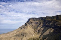 Gran Canaria, janeiro fotografia de stock royalty free