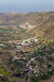 Gran Canaria, kaldera de Tejeda Obraz Stock