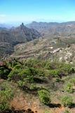 GRAN CANARIA, kanarek ISLANDS/SPAIN- LUTY 21: Sceniczny widok Obrazy Royalty Free