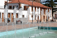 GRAN CANARIA, kanarek ISLANS/SPAIN - LUTY 21: Uliczna scena ja Obraz Royalty Free