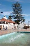 GRAN CANARIA, KANARIEFÅGEL ISLANS/SPAIN - FEBRUARI 21: Gataplats I arkivfoto