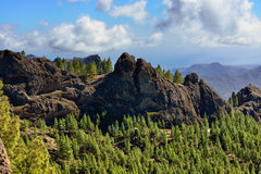 Gran Canaria landscape Royalty Free Stock Photo