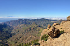 Gran Canaria landscape Royalty Free Stock Photography
