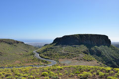 Gran Canaria landscape Stock Photography