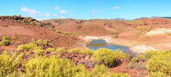Gran Canaria landscape Stock Images