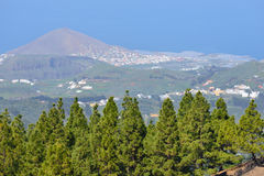 Gran Canaria landscape Stock Photo