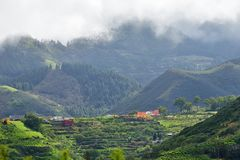 Gran Canaria landscape, Spain Stock Photography
