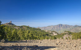 Gran Canaria, Las Cumbres - the highest areas of the island Royalty Free Stock Photos