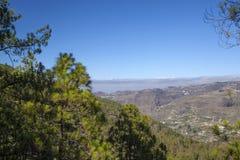Gran Canaria, Lipiec, Tamadaba Obraz Royalty Free