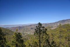 Gran Canaria, Lipiec, Tamadaba Zdjęcia Royalty Free