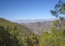 Gran Canaria, Lipiec, Tamadaba Fotografia Royalty Free