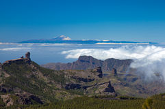 Gran Canaria, Los Cumbres - the highest areas of the island Stock Images