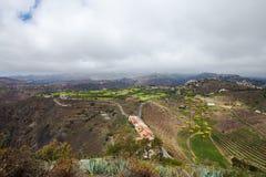 Gran Canaria, luchtmening stock fotografie