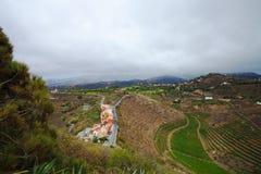 Gran Canaria, luchtmening stock foto's