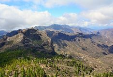 Gran Canaria mountain Royalty Free Stock Photo