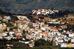 Gran Canaria mountain village Royalty Free Stock Photos
