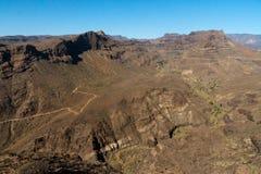 Gran Canaria Mountains Royalty Free Stock Photo